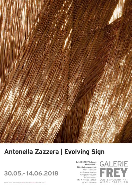 30.05.2018 – 14.07.2018 | ANTONELLA ZAZZERA Evolving Sign – Galerie Frey I Salzburg
