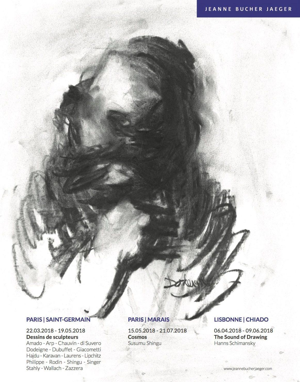 23.03.2018 – 19.05.2018 | DESSINS DE SCULPTEURS – Galerie Jeanne Bucher Jaeger | Paris